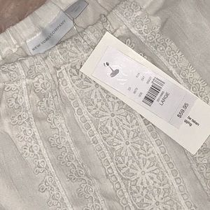 New York & Company Other - NWT white romper